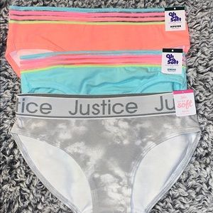 (3) New Justice undies